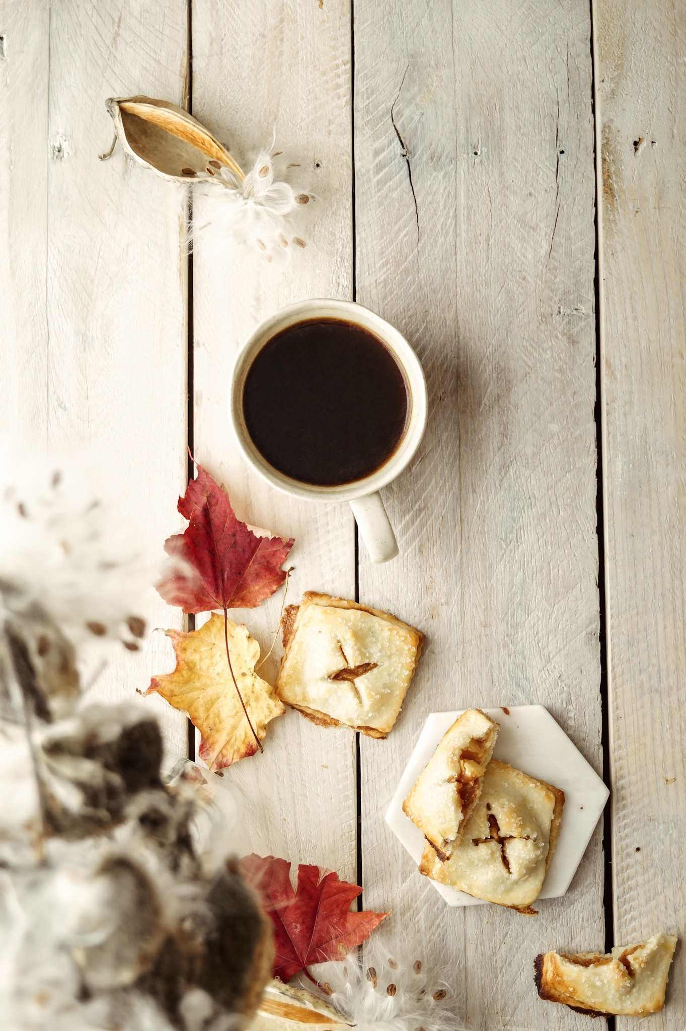 Mini apple pies for slow fall mornings by Mandy Tetrault: A messy Bun Kitchen, Apple pie recipes, apple pie filling, desserts for a crowd, thanksgiving desserts, easy apple pie recipe,  flaky pie crust, homemade pie crust, homemade apple pie, desserts for fall, dessert for a crowd,