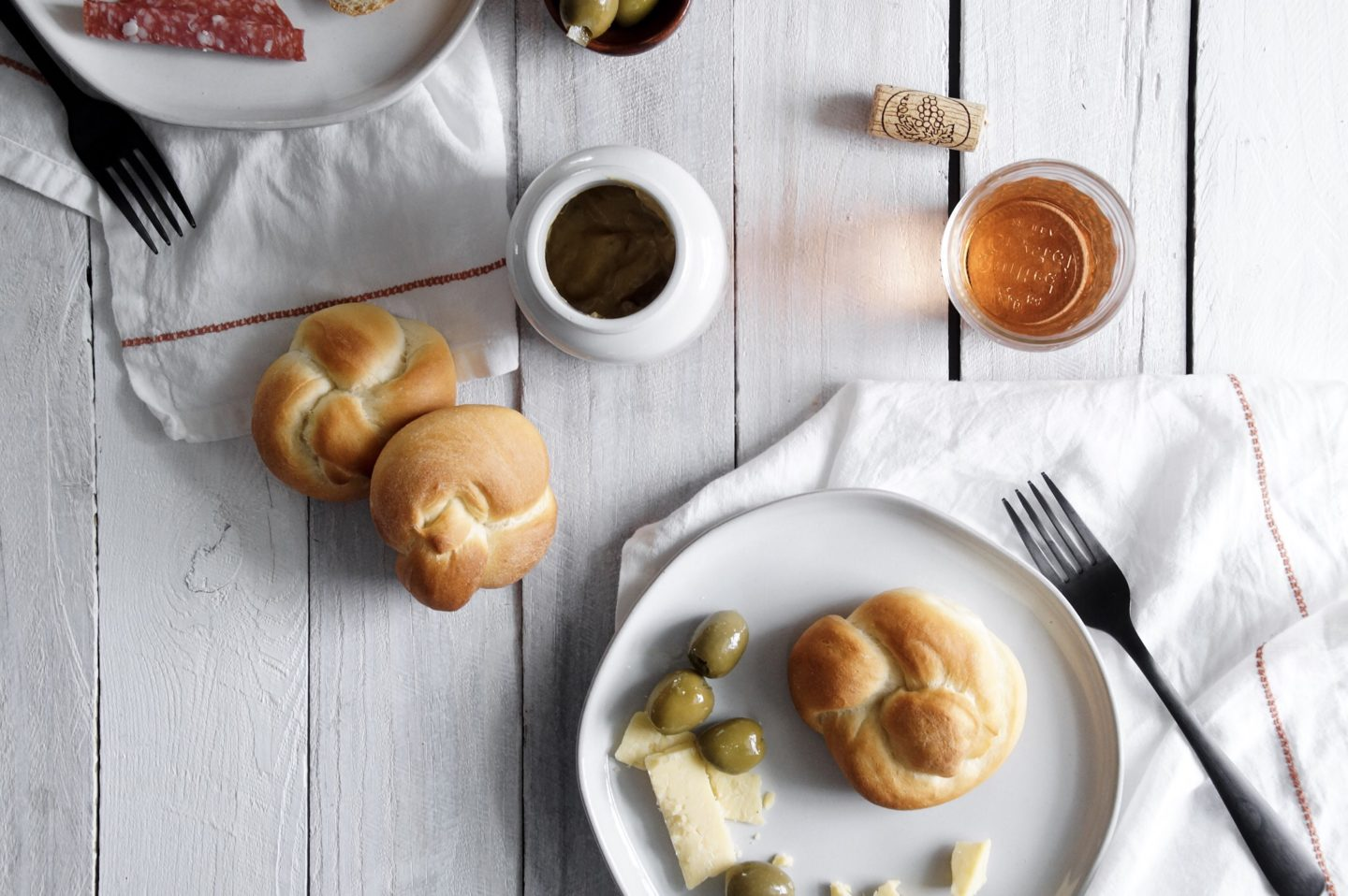 pair this recipe for milk buns with simple cheese and pickles or olives for a perfect no fuss lunch.