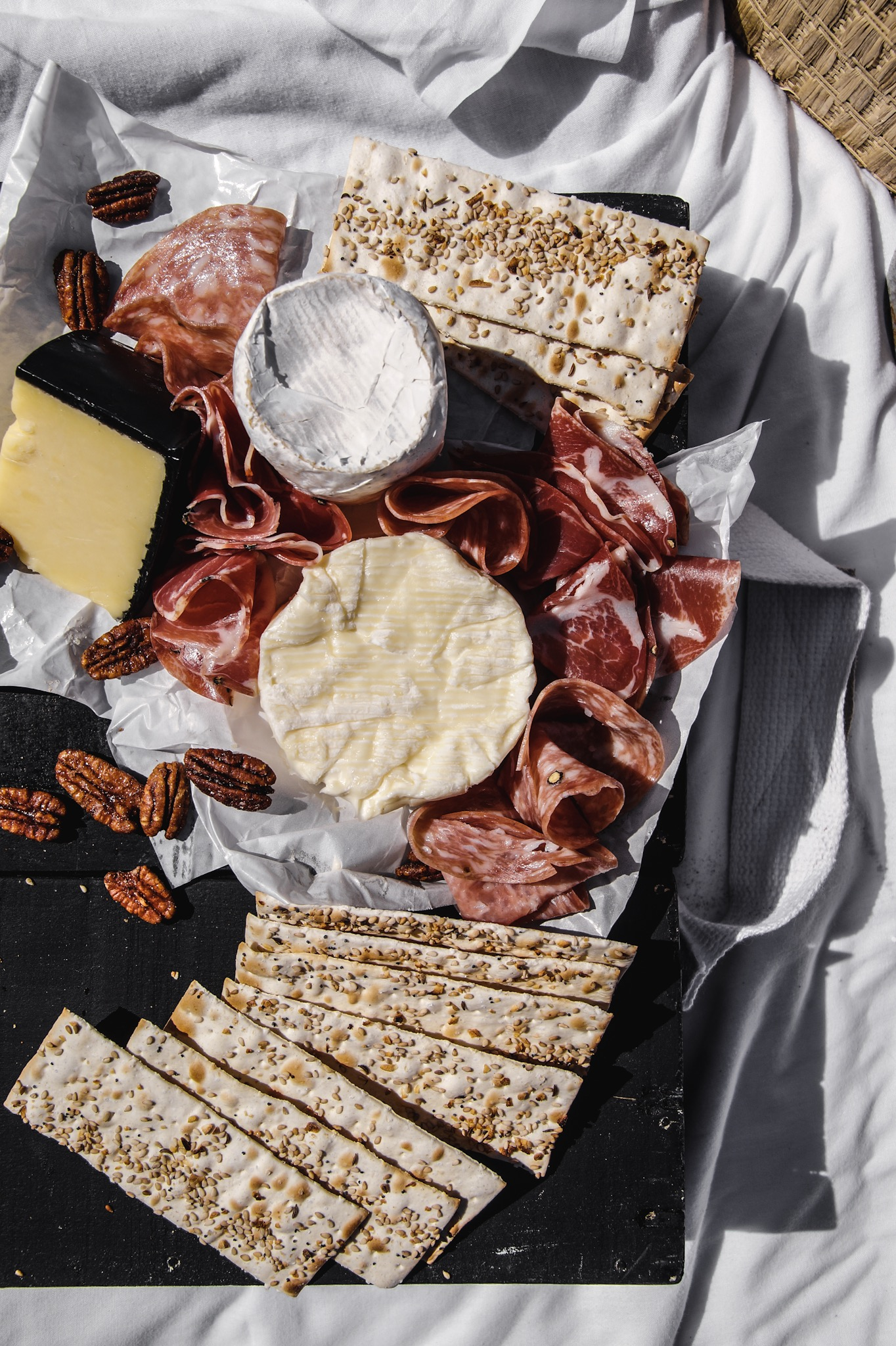 8 tips tricks and ideas to create an amazing summer picnic. 4. Charcuterie is king.