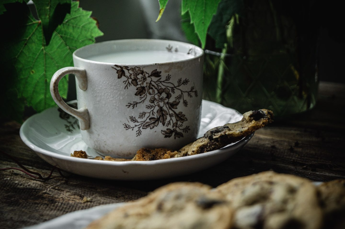 crisp buttery cookies with a chewy soft center